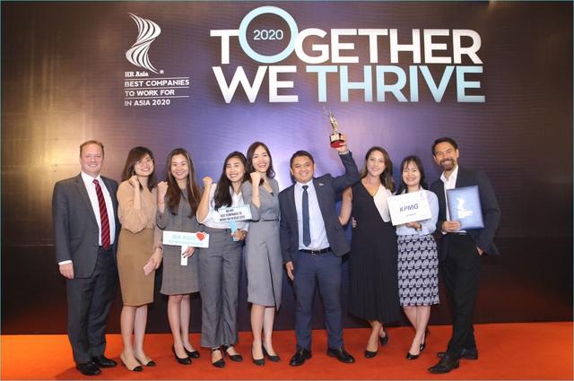 """KPMG được vinh danh trong Top """"Nơi làm việc tốt nhất Châu Á 2020"""" - Ảnh 1."""