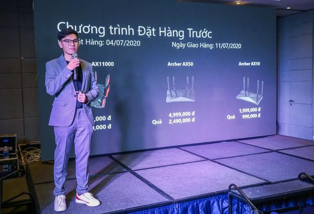 TP-Link ra mắt những mẫu router mới hỗ trợ Wi-Fi 6 tại Việt Nam - Ảnh 1.