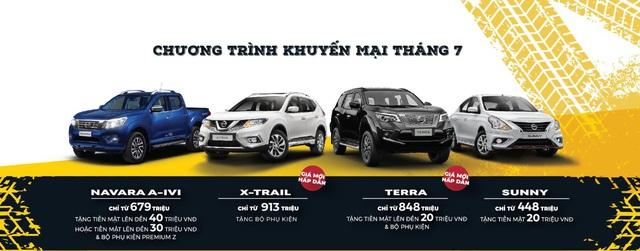 Nissan ưu đãi đặc biệt cho toàn bộ dòng xe đang bán tại Việt Nam trong tháng 7/2020 - Ảnh 1.