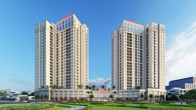 Ra mắt chính thức tòa tháp đôi VCI Tower - Ảnh 1.