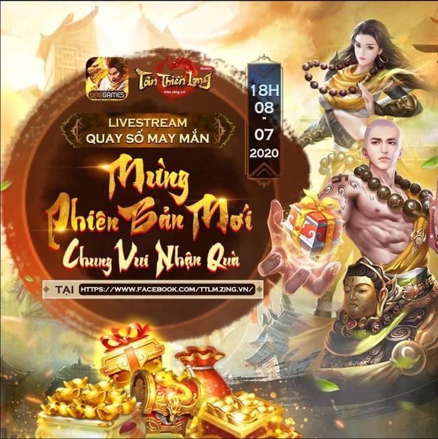Tân Thiên Long Mobile công bố kết quả sự kiện Mừng Phiên bản mới - Chung vui nhận quà - Ảnh 1.