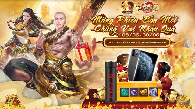 Tân Thiên Long Mobile công bố kết quả sự kiện Mừng Phiên bản mới - Chung vui nhận quà - Ảnh 2.