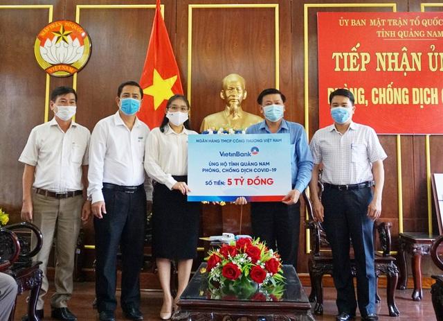 VietinBank ủng hộ Đà Nẵng, Quảng Nam 10 tỷ đồng chống dịch COVID-19 - Ảnh 1.