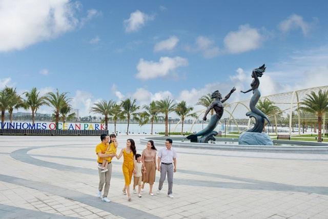 Vinhomes Ocean Park bàn giao gần 9.000 căn hộ sau hơn 20 tháng khởi công - Ảnh 1.