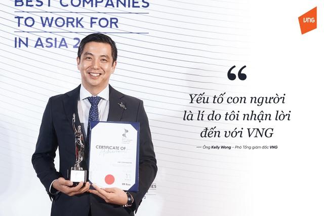 """Phó tổng giám đốc VNG Kelly Wong: """"Giá trị cốt lõi của VNG tập trung vào con người"""" - Ảnh 1."""