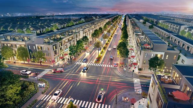 Shophouse, nhà phố thương mại Gem Sky World thu hút nhà đầu tư - Ảnh 1.
