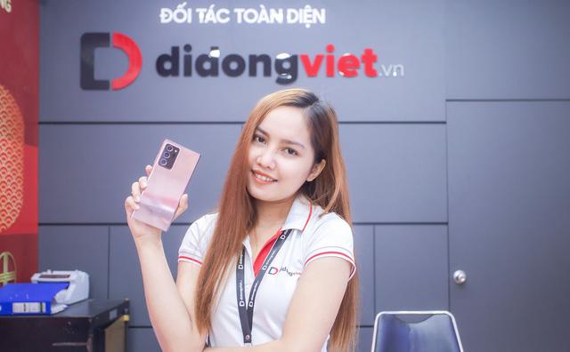 Trade-in miễn phí lên đời Galaxy Note 20 tại Di Động Việt - Ảnh 1.