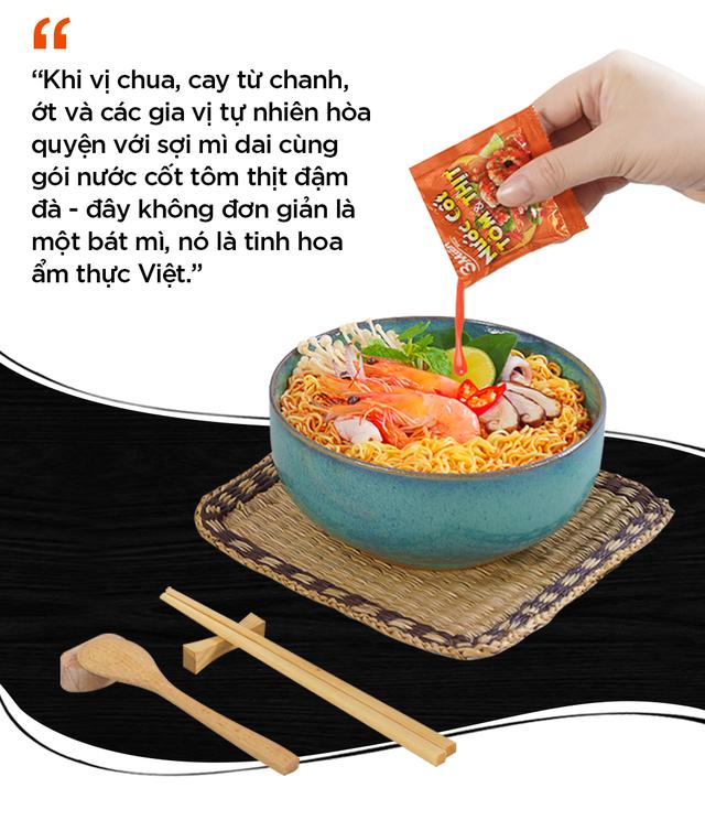 Ba thập kỷ khắc khoải cho một hương vị mì ăn liền đậm Việt - Ảnh 8.