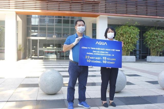 Nỗ lực vì cộng đồng trong mùa Covid-19 của Aqua Việt Nam - Ảnh 1.