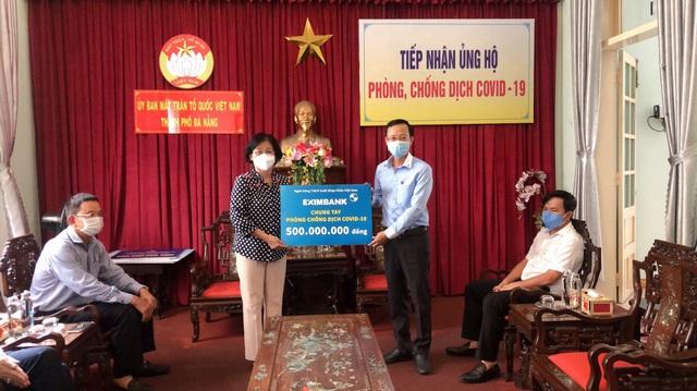 Eximbank ủng hộ 500 triệu đồng tiếp sức cùng Đà Nẵng phòng chống dịch - Ảnh 1.