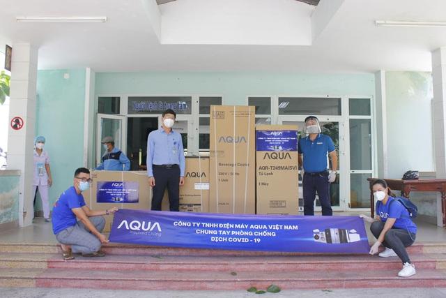 Nỗ lực vì cộng đồng trong mùa Covid-19 của Aqua Việt Nam - Ảnh 2.