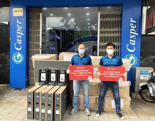 """Casper Vietnam trao tặng hơn 1.000 bộ đồ bảo hộ y tế """"tiếp lửa"""" y bác sĩ Đà Nẵng chống dịch - Ảnh 3."""
