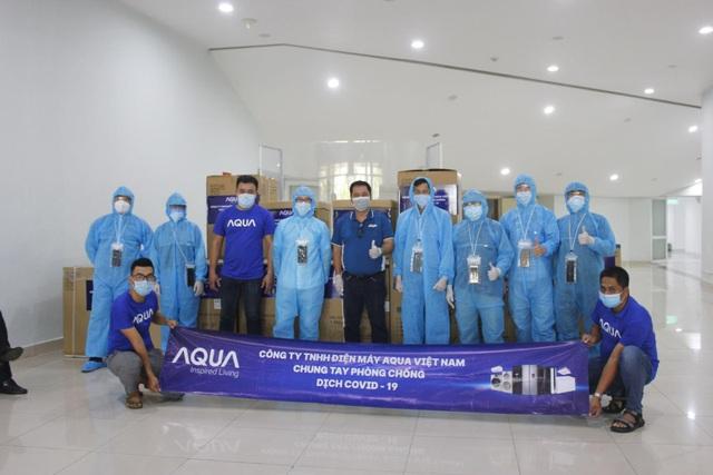 Nỗ lực vì cộng đồng trong mùa Covid-19 của Aqua Việt Nam - Ảnh 3.