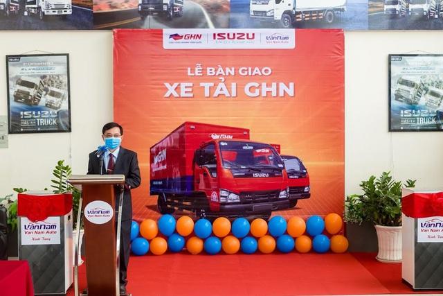 """ISUZU Vân Nam tổ chức """"Lễ Bàn Giao"""" hơn 50 xe tải các loại cho GHN Logistics - Ảnh 1."""