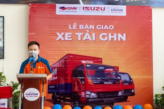 """ISUZU Vân Nam tổ chức """"Lễ Bàn Giao"""" hơn 50 xe tải các loại cho GHN Logistics - Ảnh 2."""