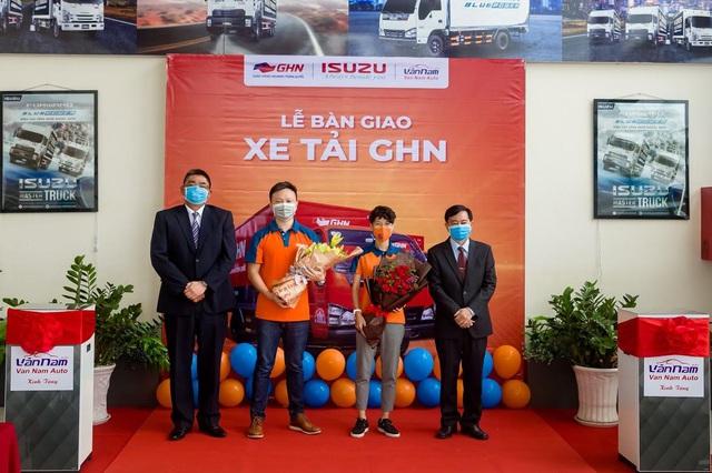 """ISUZU Vân Nam tổ chức """"Lễ Bàn Giao"""" hơn 50 xe tải các loại cho GHN Logistics - Ảnh 3."""