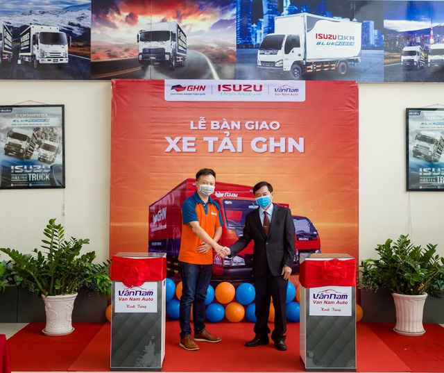 """ISUZU Vân Nam tổ chức """"Lễ Bàn Giao"""" hơn 50 xe tải các loại cho GHN Logistics - Ảnh 4."""