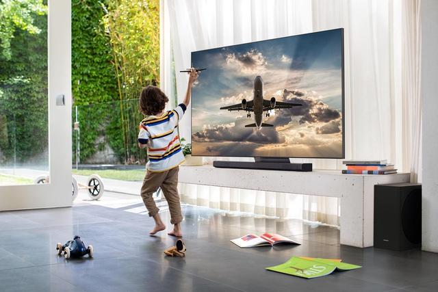 4 điều ấn tượng của rạp phim vô cực tại gia chuẩn mác Samsung QLED 8K 2020 - Ảnh 3.