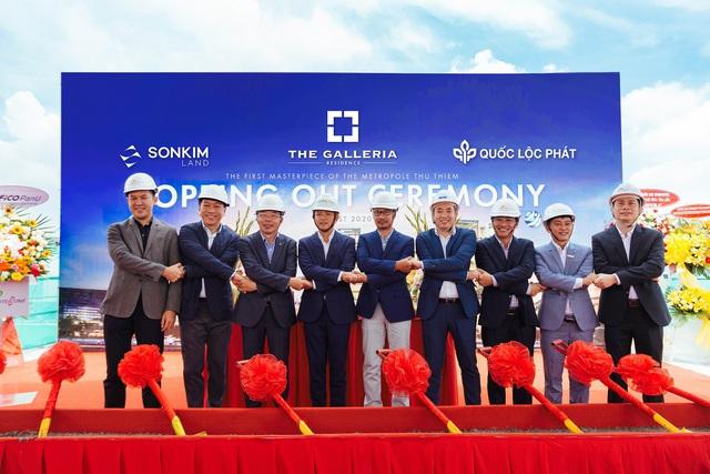 SonKim Land tổ chức lễ cất nóc Dự án The Galleria Residence - Ảnh 1.