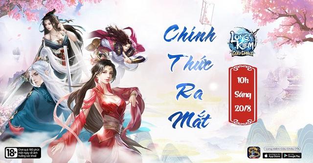 Long Kiếm Cửu Châu – công bố lịch khai mở phiên bản chính thức vào ngày 20/8/2020 - Ảnh 1.