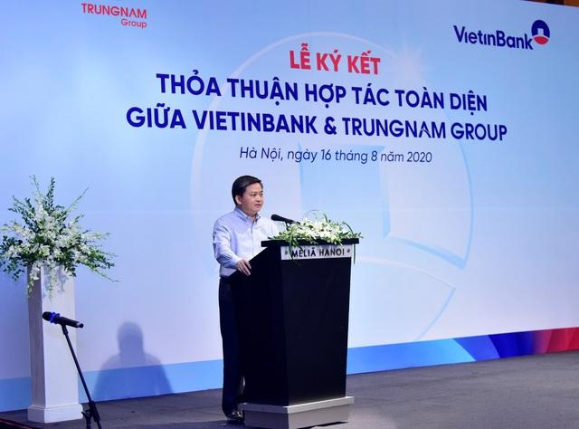 VietinBank và Trung Nam Group ký kết Thỏa thuận hợp tác toàn diện - Ảnh 1.