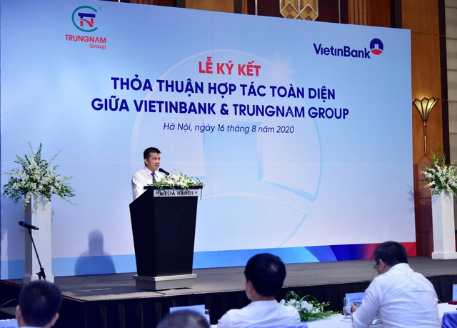 VietinBank và Trung Nam Group ký kết Thỏa thuận hợp tác toàn diện - Ảnh 2.