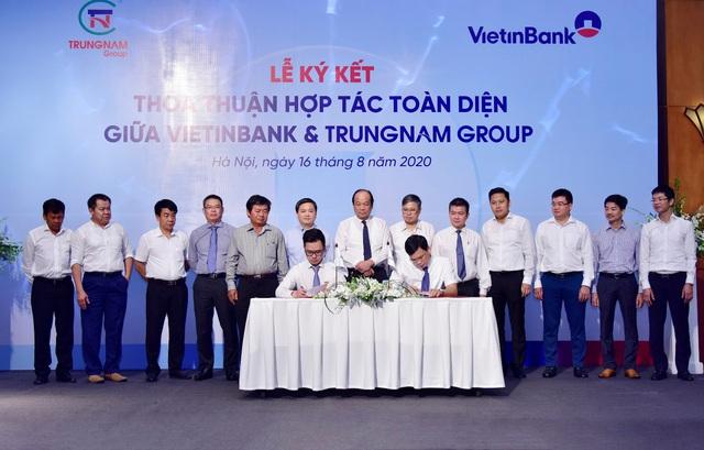 VietinBank và Trung Nam Group ký kết Thỏa thuận hợp tác toàn diện - Ảnh 3.