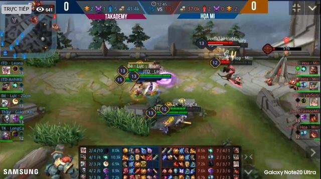 Màn so tài mãn nhãn tại Samsung Showmatch và chiến thắng đầy thuyết phục của Takademy Team - Ảnh 2.