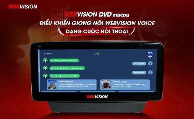 Đột phá tính năng màn hình Mazda độc quyền Webvision Việt Nam - Ảnh 2.