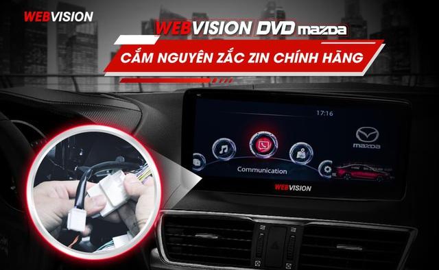 Đột phá tính năng màn hình Mazda độc quyền Webvision Việt Nam - Ảnh 4.