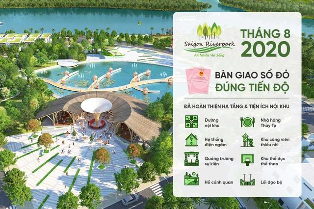 Không chỉ sở hữu ưu thế pháp lý sổ đỏ sở hữu lâu dài, Saigon Riverpark còn chinh phục khách hàng bởi dư địa tăng giá cao