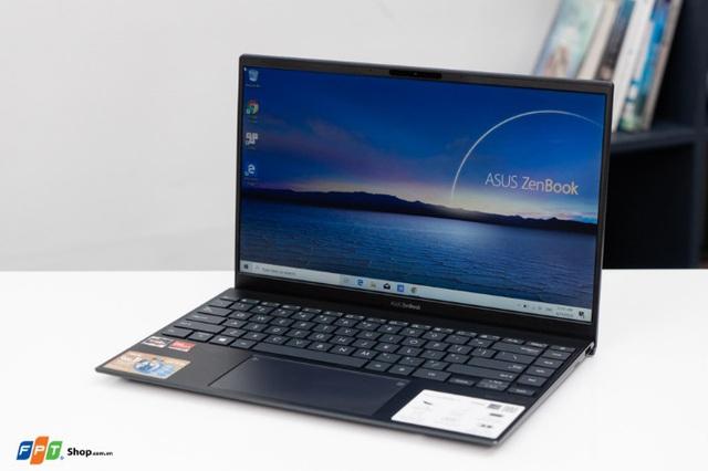FPT Shop mở bán ASUS ZenBook (UM425), laptop CPU AMD 14inch mỏng nhất thế giới - Ảnh 2.