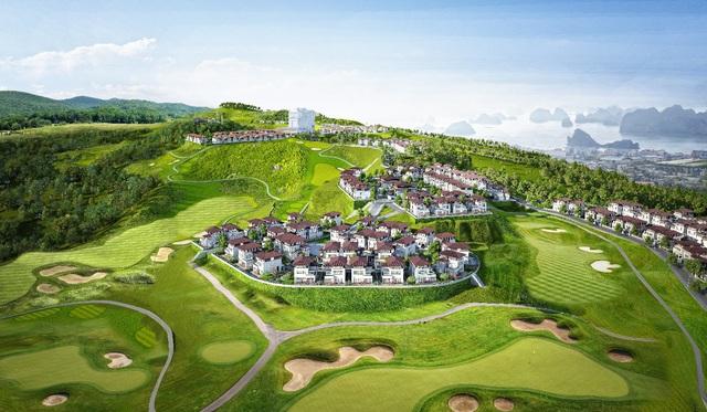 Ngắm trọn Hạ Long từ khu biệt thự sân golf độc đáo tại Quảng Ninh - Ảnh 1.