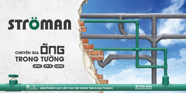 """""""Chuyên gia"""" ống trong tường - giải pháp dẫn nước lý tưởng cho công trình bền vững - Ảnh 2."""