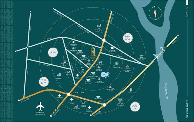 Phuc Dat Tower khẳng định vị thế nhờ vị trí cửa ngõ TP. Thủ Đức - Ảnh 1.