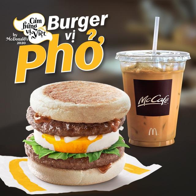Burger vị Phở - Sự kết hợp độc đáo từ McDonald's - Ảnh 3.