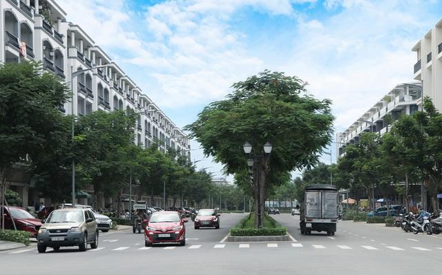 Khu đô thị Van Phuc không ngập nước nhờ quy hoạch đồng bộ - Ảnh 2.