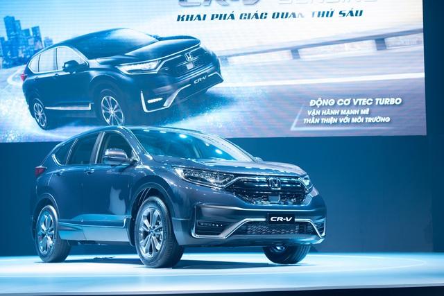 Honda Việt Nam ra mắt CR-V 2020 với điểm nhấn công nghệ Honda SENSING - Ảnh 2.