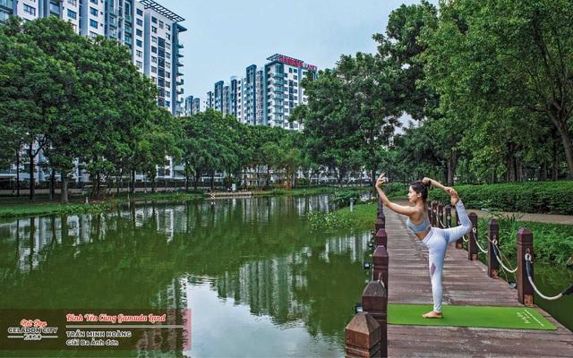 Ấn tượng vẻ đẹp khu đô thị xanh phía Tây Sài Gòn - Ảnh 3.