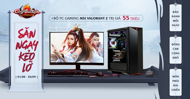 Cửu Âm Chân Kinh tặng full set PC khủng Dịp ra máy chủ mới Trương Vô Kỵ - Ảnh 3.