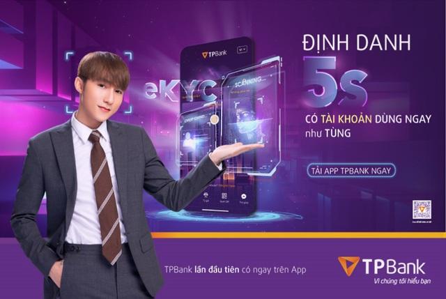 TPBank là ngân hàng tiên phong phát triển ứng dụng eKYC tại Việt Nam - Ảnh 1.
