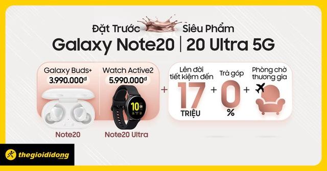 Đẳng cấp với Samsung Galaxy Note20 và bộ quà công nghệ đắt đỏ tại Thế Giới Di Động - Ảnh 2.