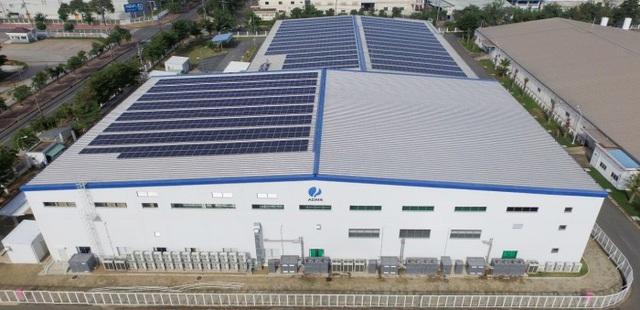 Tập đoàn Aureole đã ứng dụng điện năng lượng mặt trời - Ảnh 1.