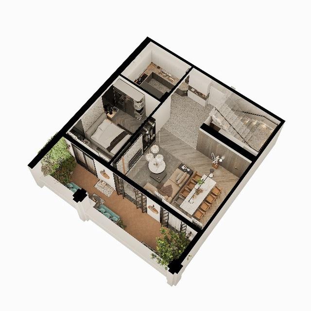 """Căn hộ Duplex Roman Plaza – cuộc sống thượng lưu theo """"chuẩn"""" riêng - Ảnh 2."""