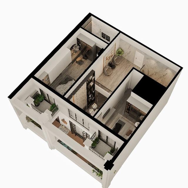 """Căn hộ Duplex Roman Plaza – cuộc sống thượng lưu theo """"chuẩn"""" riêng - Ảnh 3."""