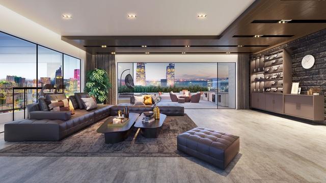 Căn hộ hạng sang tích hợp khách sạn cao cấp thu hút doanh nhân quốc tế - Ảnh 1.