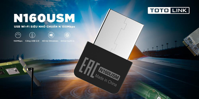 TOTOLINK N160USM - Giải pháp hoàn hảo thay thế cho dây mạng - Ảnh 2.