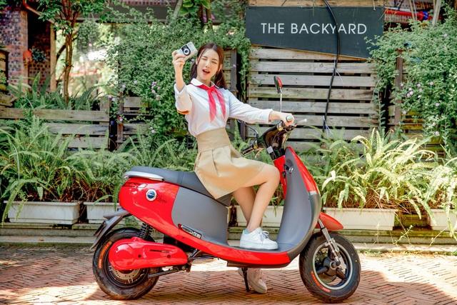 Chưa đến 17 triệu đồng sở hữu ngay mẫu xe máy điện thời thượng từ Dibao - Ảnh 6.