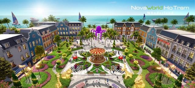 Wonderland Ho Tram thổi thêm sắc màu với các dịch vụ giải trí và thương mại tại Hồ Tràm - Ảnh 1.