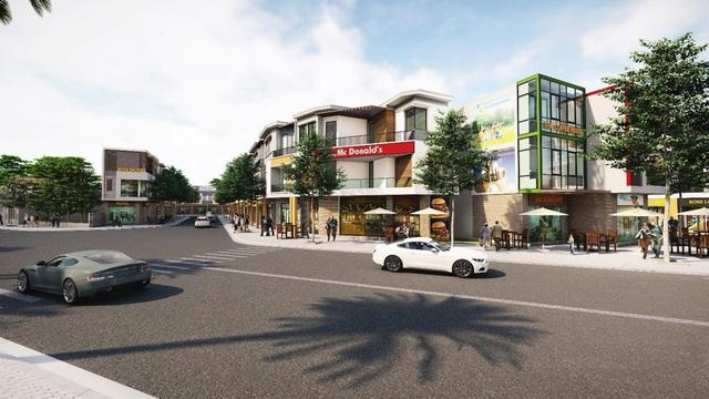 Nhà phố Shophouse Thuận An hút dòng vốn bất động sản - Ảnh 1.